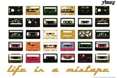 Life Is A Mixtape - Orange by Steez
