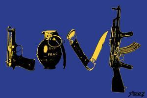 Love (Weapons) Blue by Steez