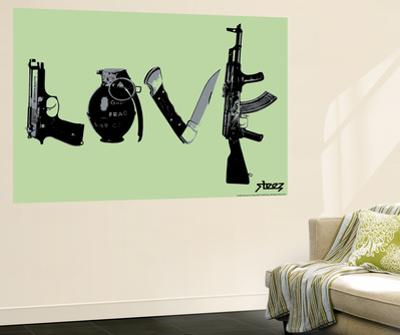 Love (Weapons) Green by Steez