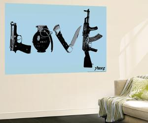 Love (Weapons) Light Blue by Steez