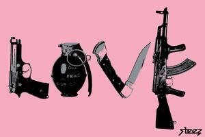 Love (Weapons) Pink by Steez