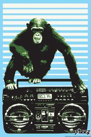 Monkey Boom Box by Steez