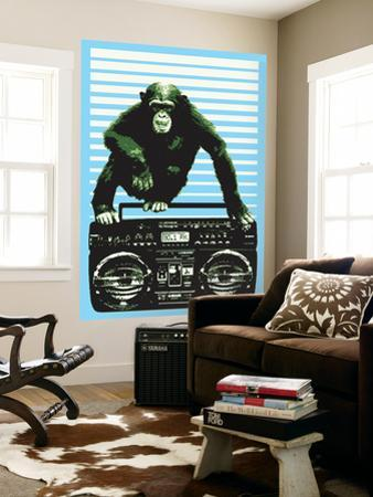 Monkey Boom Box by Steez