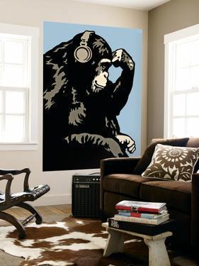 Monkey Thinker - Blue by Steez