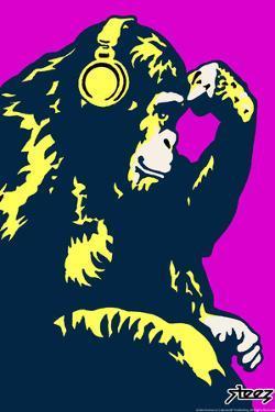 Monkey Thinker - Purple by Steez
