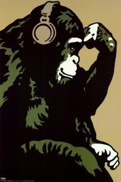 Monkey Thinker by Steez