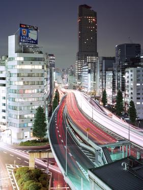 Tokyo, Urban Expressway at Night by Stefan Frid