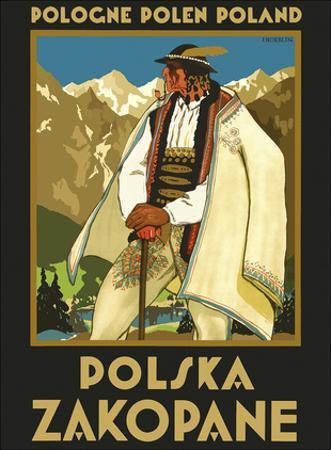 Pologne Polen Poland - Polska Zakopane (Poland resort town of Zakopane) by Stefan Norblin