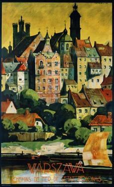 Warszava Poster by Stefan Norblin