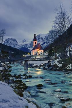 Church St Sebastian in Ramsau by Stefan Sassenrath