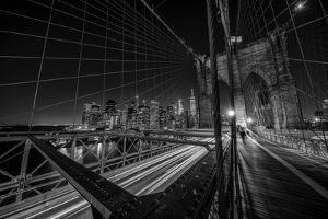 Brooklyn Bridge Lights by Stefan Schilbe