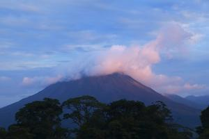 Arenal Volcano National Park, View of the Volcano. by Stefano Amantini