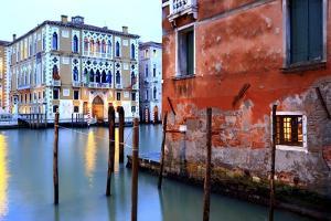 Canal Grande, a View near the Accademia Bridge. by Stefano Amantini
