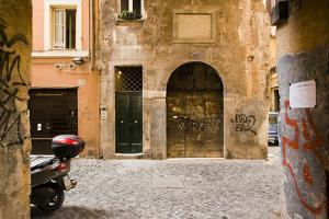 Cappellari Street near Campo Dei Fiori. by Stefano Amantini