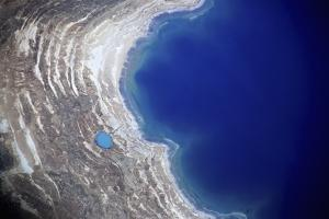 Dead Sea from Above. by Stefano Amantini