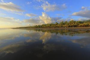Low Tide Sunset on Playa Linda near Dominical by Stefano Amantini