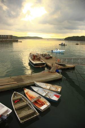 Moored Boats, Acadia National Park, Maine, USA