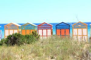 The Famous Banys De S'agar? on the S'agar? Beach by Stefano Amantini