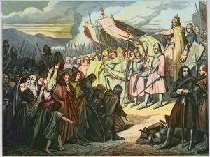 Charlemagne Accepts Wittekind's Surrender in Paderborn by Stefano Bianchetti