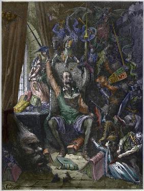 Don Quixote in His Study by Stefano Bianchetti