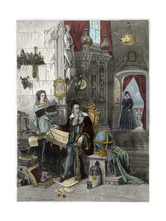 Nostradamus and Caterina De Medici