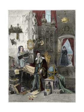 Nostradamus and Caterina De Medici by Stefano Bianchetti