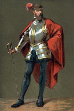 Portrait of Francisco Pizarro by Stefano Bianchetti
