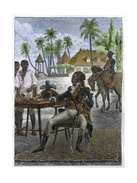 Portrait of Haitian Patriot Toussaint Louverture by Stefano Bianchetti