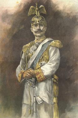 Portrait of Wilhelm Ii, German Emperor by Stefano Bianchetti