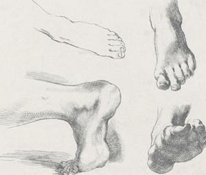 Quatre Pieds Gauches by Stefano della Bella
