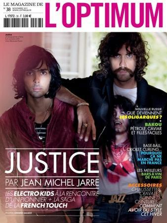 L'Optimum, November 2011 - Le Duo Justice, Xavier De Rosnay by Stefano Galuzzi