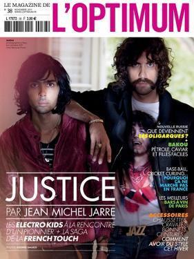 L'Optimum, November 2011 - Le Duo Justice, Xavier De Rosnay by Stefano Galuzzi