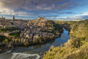 Panoramic View over Toledo and Tagus River, Castile La Mancha, Spain by Stefano Politi Markovina