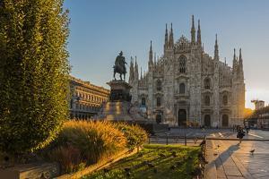 Piazza del Duomo, Milan, Lombardy, Italy by Stefano Politi Markovina