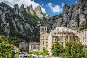 The Benedictine Abbey of Santa Maria De Montserrat, Monistrol De Montserrat, Catalonia, Spain by Stefano Politi Markovina