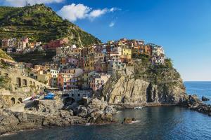 The Colorful Village of Manarola, Cinque Terre, Liguria, Italy by Stefano Politi Markovina