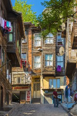 Traditional Ottoman Timber Houses in Fatih District, Istanbul, Turkey by Stefano Politi Markovina