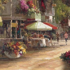 Street Side Cafe by Stefano