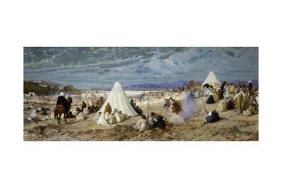 Celebration of Mohammed in Tangier