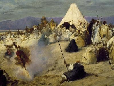 Encampment of Nomadic Bedouins