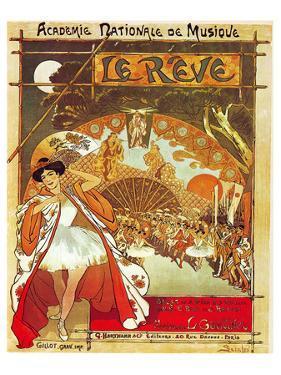 Steinlen Gastinel Ballet Reve