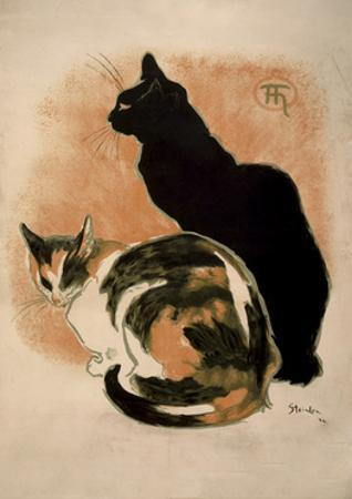 Steinlen, Two Cats