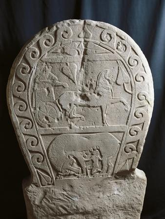 https://imgc.allpostersimages.com/img/posters/stele-depicting-deceased-s-journey-on-wagon-and-hero-suckling-on-wild-beast-fase-certosa_u-L-POP5Z90.jpg?p=0