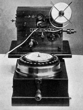 Steljes Type-Printing Telegraph Recorder