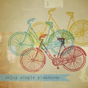 Bikes 1 by Stella Bradley
