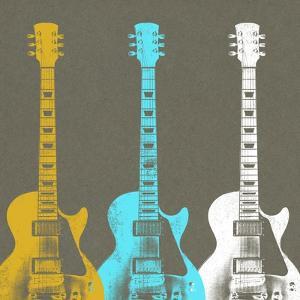 Guitars 2 by Stella Bradley