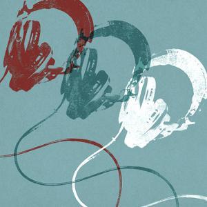 Headphones B by Stella Bradley