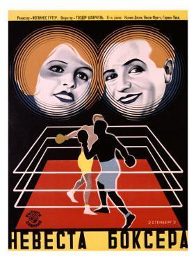 Boxers Bride Vintage by Stenberg Brothers