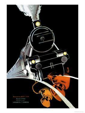 Turksib, Screaming Train by Stenberg Brothers