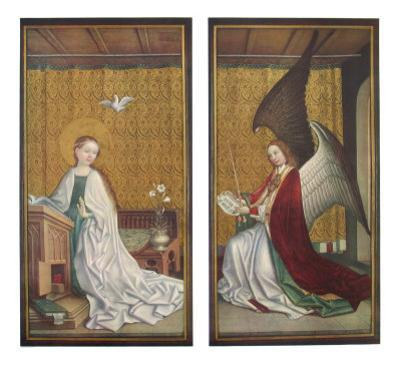 The Annunciation by Stephan Lochner